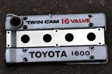 TOYOTA AE86 TWIN CAM STAINLESS STEEL ENGINE VALLEY COVER PLATE 4AGE AW11