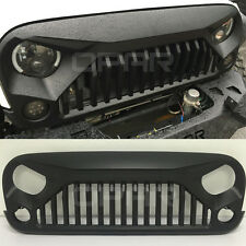 NEW Front Upgrade Topfire Grille Grill Hood For Jeep Wrangler JK 2007-2016