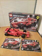Lego Racers 8157 f1 fórmula raro y colectable Modelo