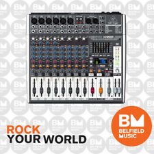 Behringer Xenyx X1222USB 12-Input Mixer with FX & USB - BNIB - Belfield Music
