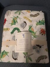Pottery Barn Kids Greyson Full Sheet Set