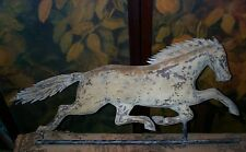 "Antique 19th C Copper Running Horse Weathervane ~  ""Dexter"""