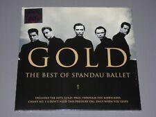 SPANDAU BALLET  Gold Best Of 2LP Back to the 80s gatefold New Sealed Vinyl 2 LP