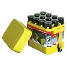 Porta-Pak 12 Pack Grease and Caulk Tube Storage Box LEGGB12 Brand New!