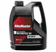 Bikemaster Performance Motorcycle Oil 10W40 Gal 532311