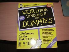 Word For Windows 6 For Dummies