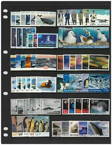 Ross Dependency 1988-2005 Collection of 12 Complete Stamp Sets 66V. MUH 13-8
