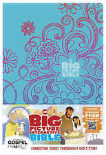The Big Picture Interactive Bible for Kids, Doodles LeatherTouch: Connecting Chr