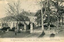 SAINT SAUVEUR EN PUISAYE Mairie Ecoles Cours Complémentaires et pensionnats