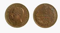 s734_66) Vittorio Emanuele III (1900-1943) 2 centesimi 1903