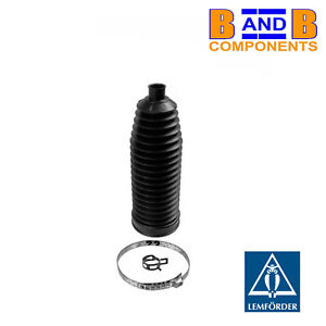 BMW STEERING RACK BOOT & CLIPS X5 E53 LEMFORDER A1503