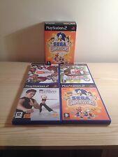 Eye Toy Camera & Eye Toy Sega Superstars - Playstation 2  Plus 3 Games Job Lot