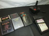 Atari 2600 Game Cartridge Lot Untested Combat Star Raiders Colleco Bundle (CL)