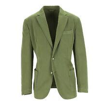 Tessitore Jacket Men's Cotton Green Size 52 (Previously