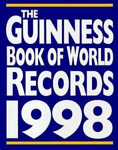Guinness Book of World Records 1998 Hardcover Guinness Books