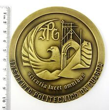 The Polytechnic Institute of Guarda,Portugal Huge Bronze Medal Rare