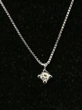 Choker Necklace Light Spot White Gold 18 Carats And Diamond Bright Christmas