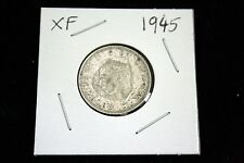 1945 Georgivs VI One Shilling - Silver - Fine Condition