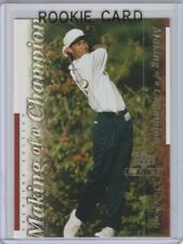 TIGER WOODS Golf ROOKIE CARD Upper Deck Premier Edition 2001 PGA RC!