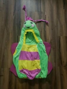 Green + Pink Toddler Butterfly Costume