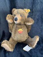 Steiff- Original Teddy Bear brown Mohair (0128/34), W. Germany (m)