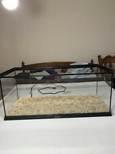 20 Gallon Snake Terrarium With Lid, Locking Pins, Heat Mat, And Thermometer.
