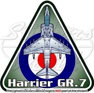 HARRIER GR.7 RAF BAe-Hawker Siddeley Aeronautica Britannica Adesivo Sticker