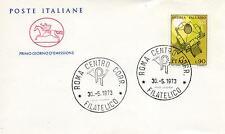 Repubblica Italiana 1973 FDC Cavallino Andrea Palladio
