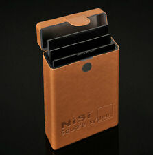 Nisi Leather Pouch Case Bag Box 6 Slots For 100*100mm or 100*150mm Square Filter