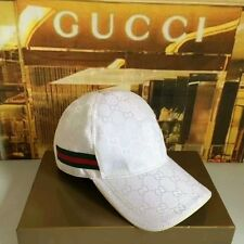 New With Box Gucci Hat Baseball cap LOGO GG Classic Size L**
