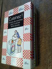 Cuisinez ! 5 livres de recettes pour cuisiner sans soucis / coffret Librio