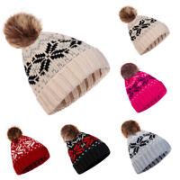 Unisex Men Women Baggy Warm Crochet Winter Wool Knit Ski Beanie Slouchy Caps Hat