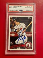 2011 Topps Update Mike Trout Signed PSA/DNA CERT
