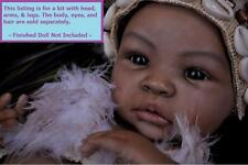 "Reborn ~ Baby Shyann Biracial ~ 19"" Vinyl Doll Parts Kit by Aleina Peterson 1426"