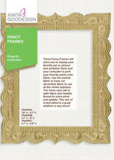 Anita Goodesign Fancy Frames Embroidery Machine Design CD NEW