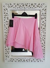 Topshop Pink Ruffle Cheesecloth Layered Dress UK Size 10