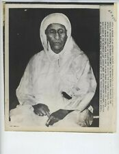 1954 ORIGINAL PASHA MARAKESH EL GLAOUI MOSLEM VINTAGE PHOTO BERBER CHIEF