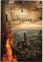 "SKYSCRAPER Original 27"" X 40"" DS/Rolled Movie Poster - 2018 - DWAYNE JOHNSON"