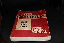 1973 Chevy Light Duty Trucks Service Manual - Chevrolet Factory Service Manual