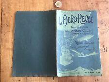 l aero revue numéro 10 1907