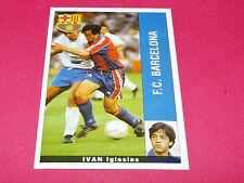 IVAN IGLESIAS FC BARCELONA PANINI LIGA 95-96 ESPANA 1995-1996 FOOTBALL