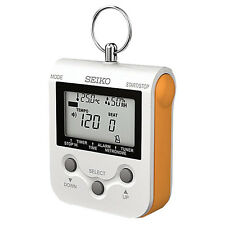 Genuine SEIKO Compact Metronome DM90 (Orange) NEW! Ships Fast! Retails for $50