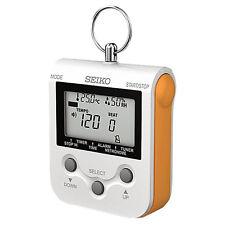 Genuine SEIKO Compact Metronome DM90 (Orange) NEW! Ships Fast! Retails for $50