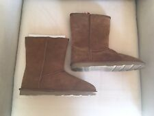 NWT Sonoma Shearling Suede Boots - 10