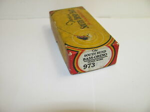 VINTAGE SOUTH BEND LURE BOX FOR BASS ORENO
