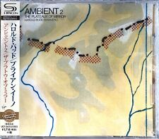 HAROLD BUDD/BRIAN ENO - Ambient 2 Plateaux Of Mirror JAPAN SHM-CD UICY25470, NEW
