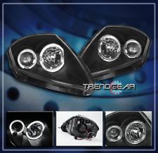 2000-2005 ECLIPSE HALO PROJECTOR HEADLIGHTS LAMP BLACK 2001 2002 2003 2004 GS GT