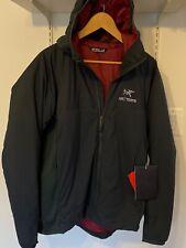 New Arc'teryx Atom LT Hoody Orion Jacket Large $259 L Hoddy Red Gray NWT Black