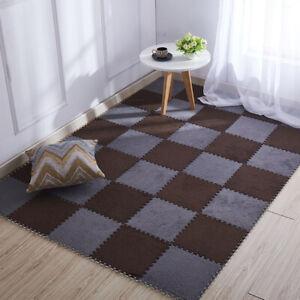 Jigsaw Carpets Living Room Bedroom Soft Floor Area Rug Kids Magic Plush MatS_ZY