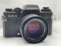 ROLLEIFLEX SL35E + PLANAR 1,8/50 Rollei-HFT #1222418 SLR